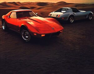 Chevrolet Corvette Stingray x2 folder