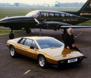 Lotus Esprit airplane