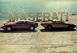 Maserati Bora and Merak